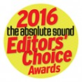 THE ABSOLUTE SOUND EDITORS CHOICE 2016