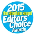 THE ABSOLUTE SOUND EDITORS CHOICE 2015