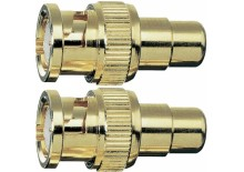 BNC-RCA Adapter (Set 2 bucati)