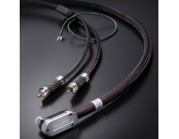 Tonearm Stereo cable High-End, L DIN - RCA, 1.2 m